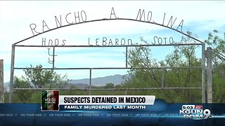 Authorities arrest suspects in family massacre in Mexico