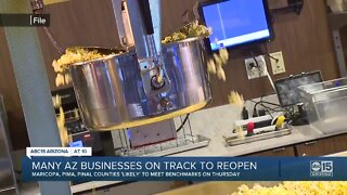 Many Arizona businesses on track to reopen