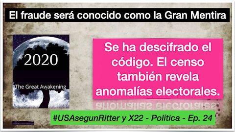 #USAsegunRitter y X22 - Política - Ep. 24