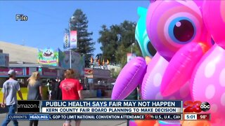 Kern County Public Health says fair may not happen
