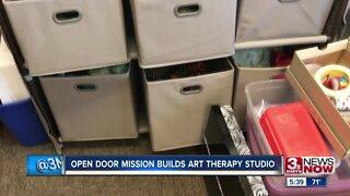 Open Door Mission opens art therapy studio