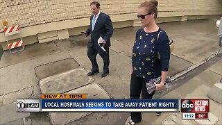 Local hospitals seeking to strip away patients' rights, I-Team investigation finds