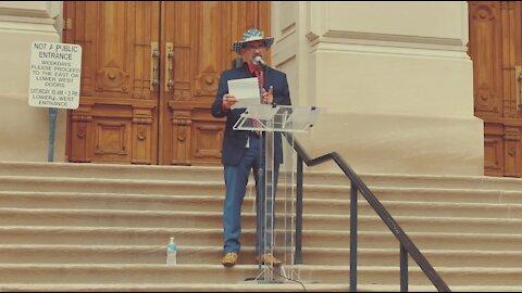 Representative Jacob Speaks at Medical Freedom Rally