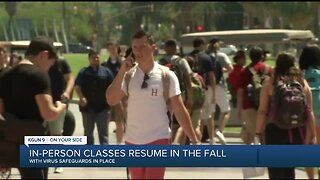 University of Arizona to resume in-person classes this fall