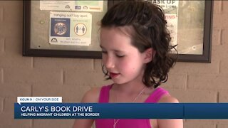 Young Tucsonan helping migrant children at the border with book drive