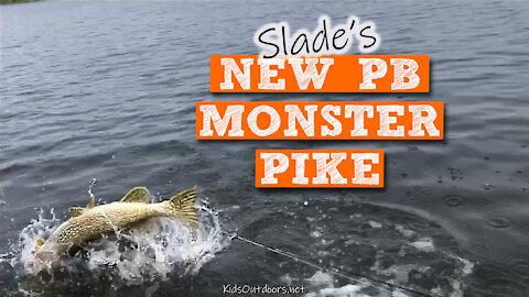 S2:E20 Slade's New PB Monster Pike | Kids Outdoors
