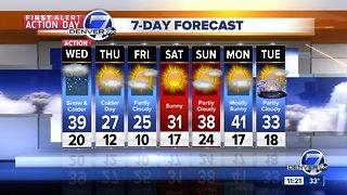 A strong winter storm to impact Colorado
