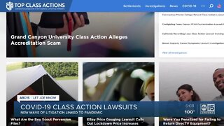 COVID-19 class action lawsuits