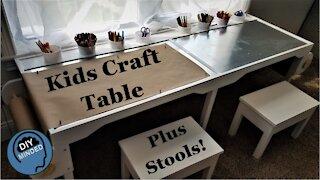 Kids Craft Table / School Desk