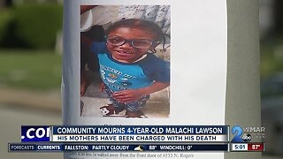 Community mourns 4-year-old Malachi Lawson