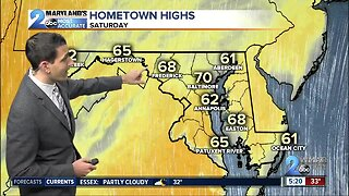 Warmth Pours In This Weekend