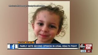 Family gets 2nd opinion in legal health fight
