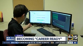"""Tempe pilot program offers high school students internships to become """"career ready"""""""