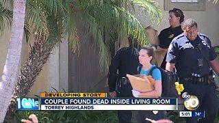 Couple found dead inside living room in Torrey Highlands