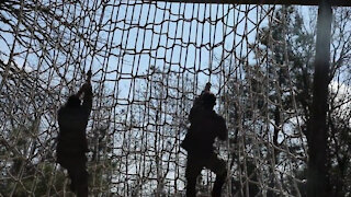 2021 Army Best Medic Competition Obstacle Course