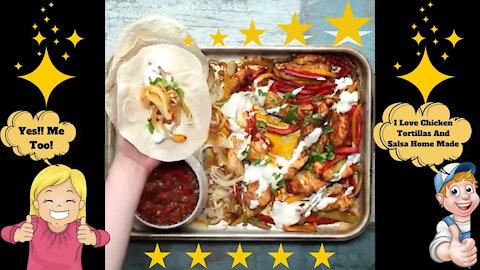 Chicken Tortillas And Salsa Home Made Recipe