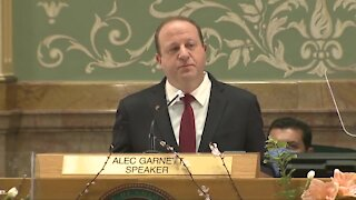 Colorado Gov. Jared Polis delivers 2021 State of the State speech