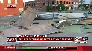 Sapulpa storm damage