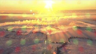 Gorgeous sunrise over Denver this morning