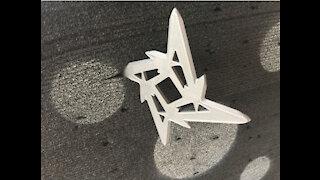 3D Printed Throwing Star