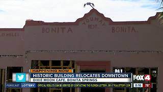 Historic building relocates in Bonita Springs