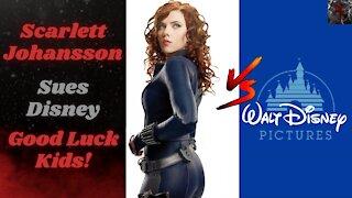 "Scarlett Johansson Sues Disney For Lost Profits of Box Office Flop ""Black Widow"""