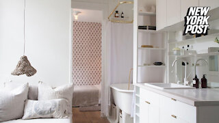 NYC apartment with shower in kitchen asks $2,500 a month