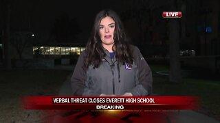 Everett High School closed due to threat