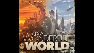 It's A Wonderful World Boardgame Review