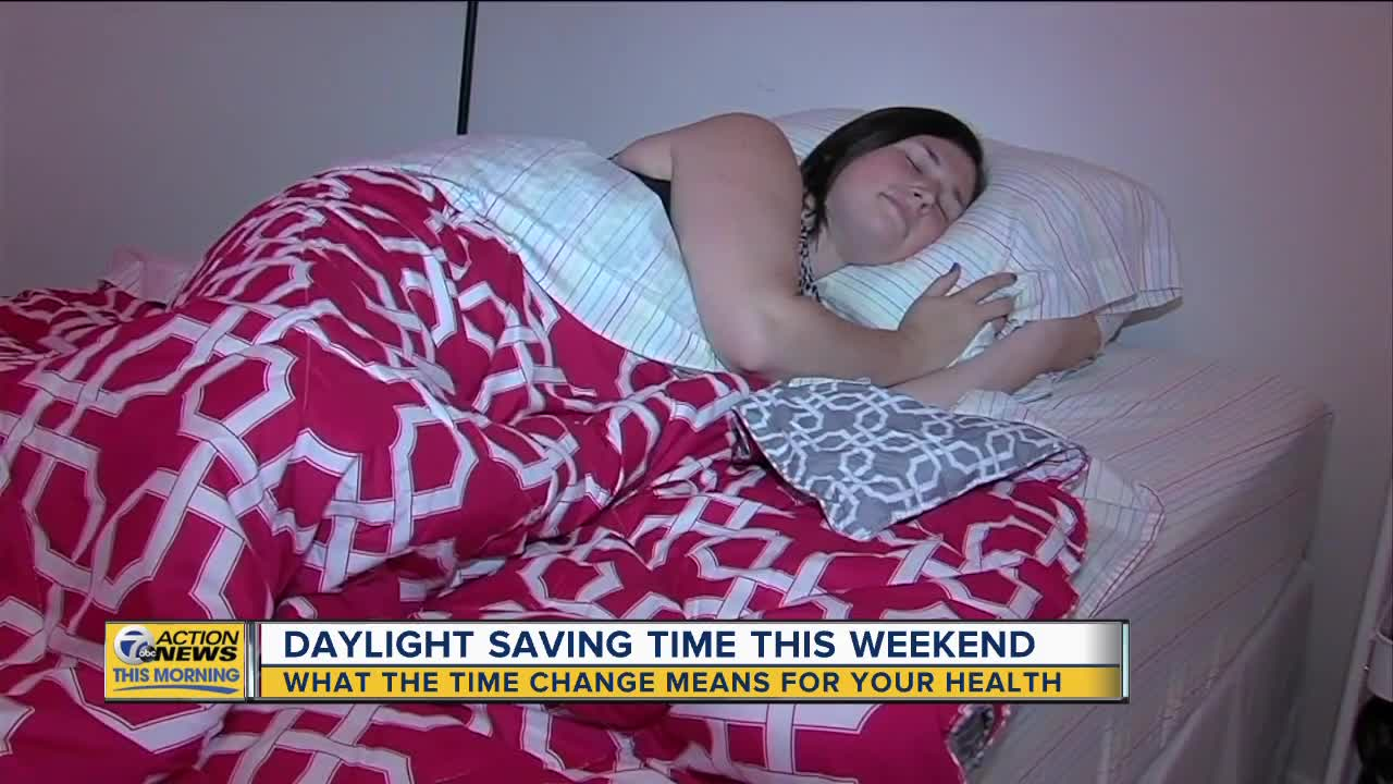 Daylight Saving Time this weekend and what it means for your health