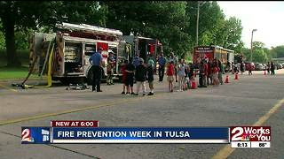Tulsa students learn more about fire safety, prevention