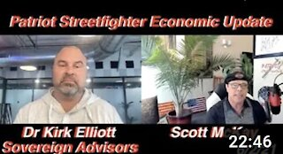 6.2.21 Patriot Streetfighter Econ Update #1: Dr Kirk Elliott and The Impact of Basel 3 Regs on Gold