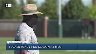 Michigan State's Mel Tucker ready for challenges as season finally set to begin