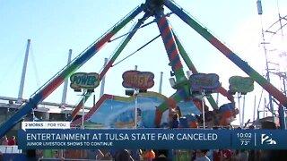 Entertainment at Tulsa State Fair canceled