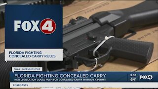 Lawmakers discuss concealed carry legislation