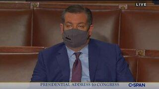 Ted Cruz FELL ASLEEP During Joe Biden's Speech to Joint Session of Congress