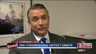 Congressman Bacon and challenger Kara Eastman debate