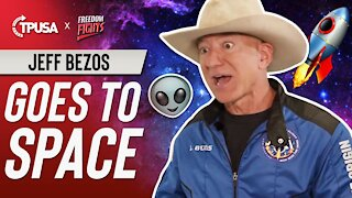 Jeff Bezos Goes To Space