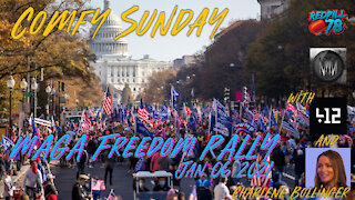 412 Anon Returns with RP& M3 For Comfy Sunday WSG Charlene Bollinger & Maga Freedom Rally