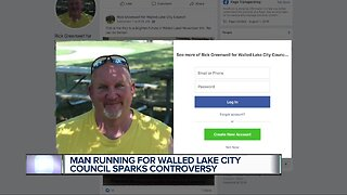 Man with past allegation of sexual assault running for Walled Lake City Council sparks controversy