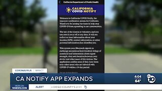 Alert System Expands Statewide