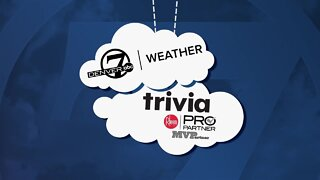 Weather trivia: Thunderstorms!