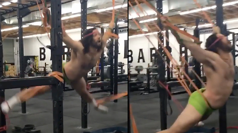 Crossfit Jesus Lays Down A Ridiculous Workout Routine