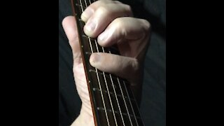 Guitar Lesson - 3 finger Hammer On And Pull Off - 3 Half Steps