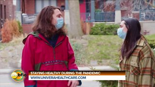 STAYING HEALTHY DURING THE PANDEMIC