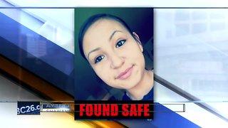 Teen found safe after Amber Alert