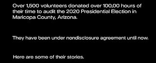 AZ Audit Volunteers Reveal Findings - DISTURBING Elections Irregularities Discovered