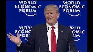 Donald Trump Speaks at Davos