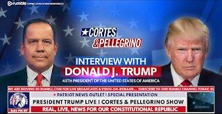 Steve Cortes Interviews President Trump   5/25/2021