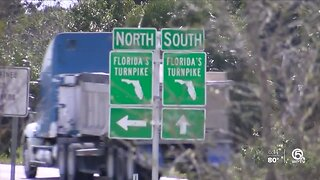 Turnpike widening project in the future for the Treasure Coast